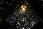 Liftschacht im Rathausturm