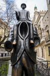 Denkmal Franz Kafka