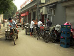 Hutongs bilden heute die Reste der historischen pekinger Innenstadt