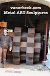 HASHTAG 170 x 170 x 170 cm, °2020 Metal ART Sculptures