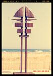Deev Vanorbeek, artdeev     Jumelles dévoilées  Port Barcarès      310 cm vendu, metal art sculpture, monumental art