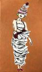 A cake dressⅣ 41×24.2cm 2016 個人蔵 Private collection