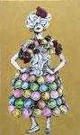 A cake dressⅠ 41×24.2cm 2016 個人蔵 Private collection