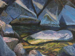 "Dragonfly Pond - Pastel Painting, 16""x21"", 2012: $650."
