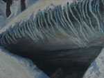 "Earth Vent II - Pastel Painting, 11""x15"" , 2012: $325."