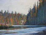 "Southward -  Pastel Painting, 14x18""  2011:  $450."