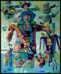 Familie Reunie, 120cm x 100cm, acrilico sobre lino, 2012. Disponible