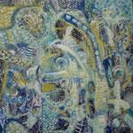 Zoologico, 30cm x 30cm, acrilico sobre panel, 2012.