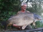 Die Wagge zeigte über 27 kg an - Respekt!!!