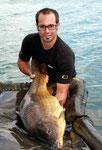 Bei der Abwaage hatte er gute 15,40 kg