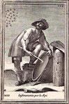 Secondo un'antica credenza gli sciami di api potevano essere attirati e poi  catturati  producendo suoni particolari,   per esempio battendo un bastone sulle pareti di una pentola   Stampa del 1722