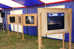 Bilder Ausstellung im Festzelt