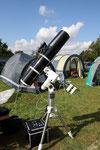 EQ 6 mit Newton Teleskop
