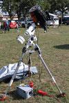 EQ6 mit Celestron Spiegelteleskop