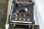 Akkupack  und Teleskopsteuerung X-Box