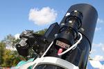 Newton Teleskop mit Sucher Fernrohr oder Guider