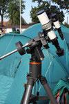 Celestron CGE Montierung und TeleVue APO - Refraktor