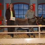 Birgit und Dennis mit Masl-tow, Foto: Brigitte Karwath