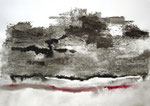 Landscape IV / Técnica mista sobre papel 42 x 58,5 cm / Colecção particular / Mixed media on paper