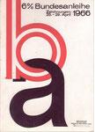 Entwurf Bundesanleihe 1966.