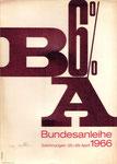 Bundesanleihe 1966. Anleihe der Republik Österreich.