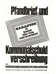 Pfandbriefe und Kommunalschuldverschreibungen. Wien nach 1970.