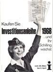 Investitionsanleihe der Republik Österreich 1968.