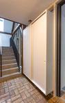Innenausbau / Einbauschrank / weiß lackiert