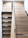 Treppe / Innenausbau / Massivholz