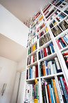 Bücherregal / Möbelbau / beleuchtet