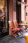 Cafe Stivale / Mainz / Stühle geschliffen und geölt