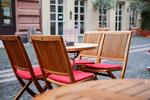 Cafe Stivale / Mainz / Stühle und Tische geschliffen und geölt