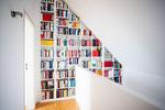 Bücherregal / maßgefertigt / beleuchtet
