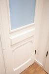 fertig restaurierte historische Tür