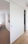 Innenausbau / Schiebetür / Badezimmer und Kleiderschrank