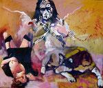 Devilangel   150 x 120 cm   Acryl auf Malgrund   2013