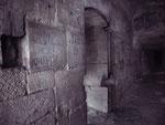 Rue d'enfer sous le mur des chartreux (l'ancien nom pour denfert rochereau)