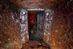 Porte blindée du bunker allemand