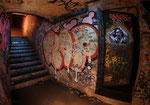 bunker allemand - Escalier vers le Lycée montaigne