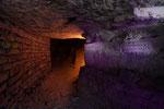 sous l'église du val de grace / chemin conduisant à l'escalier
