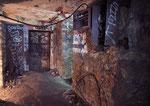 bunker allemand - Vestiges d'installation éléctrique