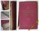 Buchreparatur - Bild 1/2 zuvor - Vom Einband abgelöster Buchrücken und Buchblock - lose Seiten - verschmutzte Schnitte - beschädigter Buchrücken