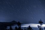 Himmelsleuchten:  Star Trails around the Teide, Tenerife