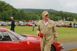 Jean Oziol, sur Ferrari Daytona, un pilote qui a la classe à l'italienne.