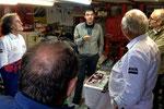 """Et, pour bien terminer la journée, un petit crochet à l'atelier """"Double arbre"""" du sorcier Alain Annon, éminent spécialiste des Alfa Romeo installé à Saint-Sébastien... qui assurera une nouvelle fois l'assistance technique sur le 2e CREUSEKISTAN CLASSIC."""