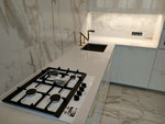 Кухонная столешница из кварцевого агломерата Noble Linea