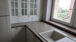 Кухонная столешница с подоконником из кварцевого агломерата Джинджер.
