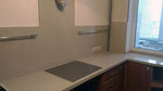 Кухонная столешница с фартуком из кварцевого агломерата Апулия от компании Сантамаргаретта (Италия)