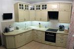 Кухонная столешница из кварцевого агломерата Плаза Стоне. +7-915-239-6597
