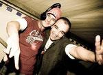 li. DJ CeeKay, re. DJ M-NoiZe